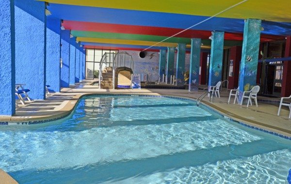 monterey bay indoor pool in myrtle beach